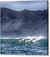A Day In The Surf V3 Acrylic Print