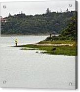 A Day Of Fishing Acrylic Print