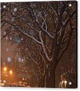 A December Night Acrylic Print