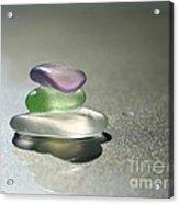 A Delicate Balance Acrylic Print