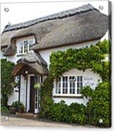 A Devonshire Cottage Acrylic Print