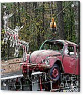 A Difference Sleigh  Acrylic Print