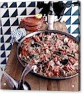 A Dish Of Paella Acrylic Print