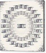 A Dizzying Amount Of Money Acrylic Print