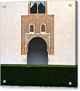 A Door On The Court Of The Myrtles Acrylic Print