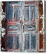 A Door Seldom Open Acrylic Print