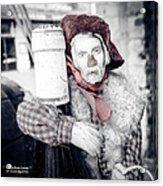 A Drunk Puppet Life Acrylic Print