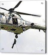 A Eurocopter As332 Super Puma Acrylic Print