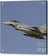 A Eurofighter Typhoon Of The Italian Acrylic Print