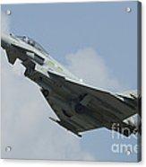 A Eurofighter Typhoon Of The Royal Air Acrylic Print