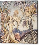 A Fairy Song From A Midsummer Nights Dream Acrylic Print