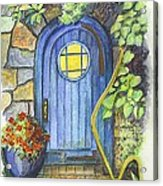 A Fairys Door Acrylic Print