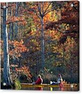 A Fall Fishing Trip Acrylic Print