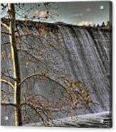 A Fall Waterfall Acrylic Print