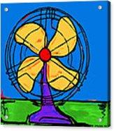 A Fan Of Color Acrylic Print