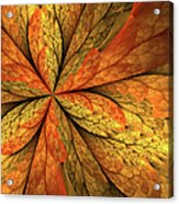 A Feeling Of Autumn Acrylic Print