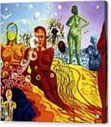 A Feminine Day In A Masculine Dreamer's Night Acrylic Print
