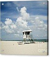 A Fine Day At The Beach Acrylic Print