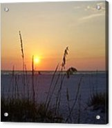 A Florida Sunset Acrylic Print