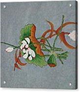 A Flower Acrylic Print by Im Son