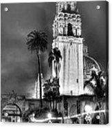 A Foggy Night On Balboa Acrylic Print