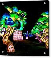 A Forest Of Lanterns Acrylic Print