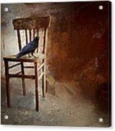 A Forgotten Place Acrylic Print by Hazel Billingsley