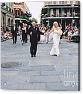 A French Quarter Wedding Acrylic Print