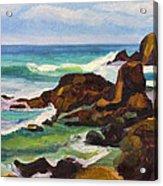 A Frouxeira Galicia Acrylic Print