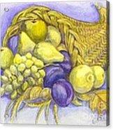 A Fruitful Horn Of Plenty Acrylic Print