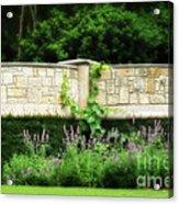 A Garden Far Away Acrylic Print