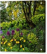 A Garden Of Color Acrylic Print