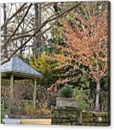 A Garden Walk In February Acrylic Print