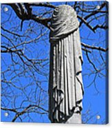 A General's Draped Monument Acrylic Print