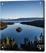 A Generic Photo Of Emerald Bay Acrylic Print