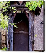 A Ghost In The Potting Shed Acrylic Print