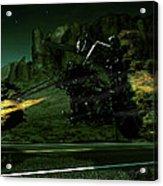 A Ghost Rider Acrylic Print