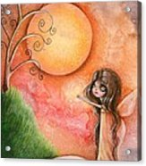 A Gift To The Moon Acrylic Print