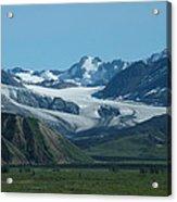 A Glacier Receding Acrylic Print