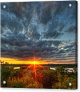 A Glorious Minneapolis Sunset Acrylic Print
