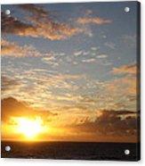 A Golden Sunrise - Singer Island Acrylic Print