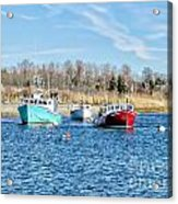 A Good Day To Fish Acrylic Print