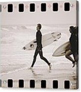 A Good Day To Surf Acrylic Print