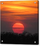 A Good End To The Day Acrylic Print