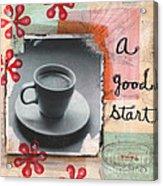 A Good Start Acrylic Print
