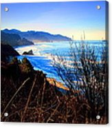 A Gorgeous Morning On The Pacific Acrylic Print