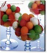 A Gourmet Cover Of Melon Balls Acrylic Print