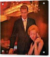 A Gq Cover Of Models At Casino De Capri In Havana Acrylic Print