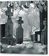 A Graveyard Acrylic Print