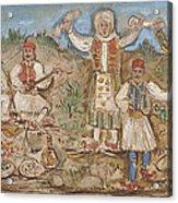 A Greek Feast Acrylic Print